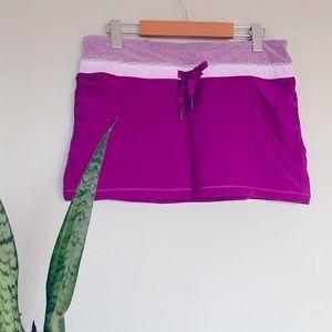 Lululemon Run: Energy purple skirt